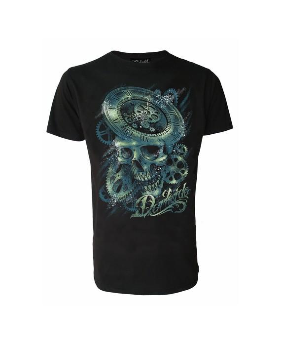 Camiseta Calavera Engranajes