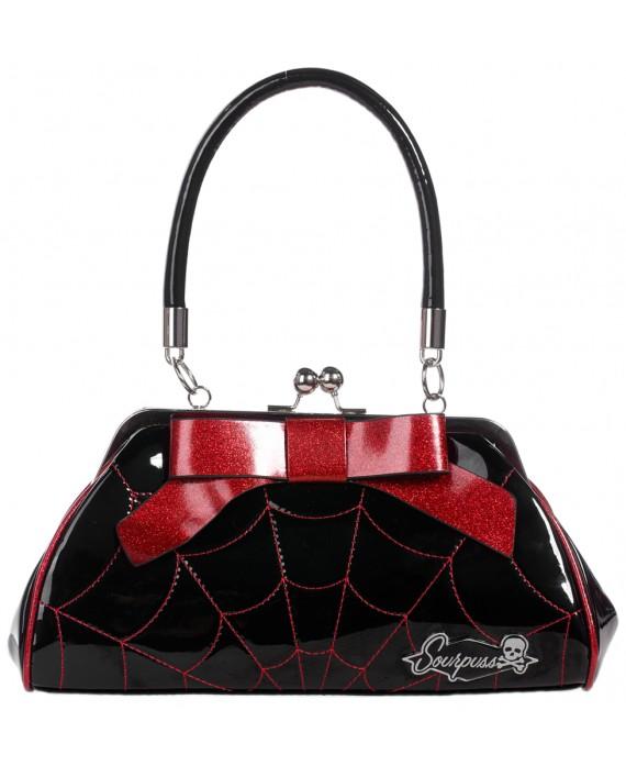 Bolso Spiderweb Rojo