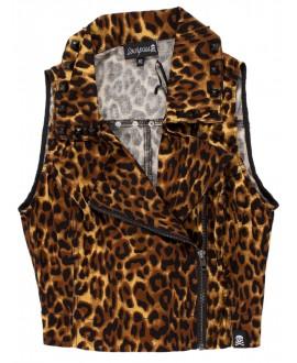 Chaleco Leopardo