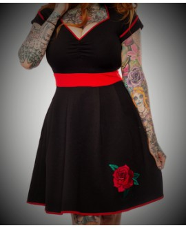 Vestido Rose Tattoo