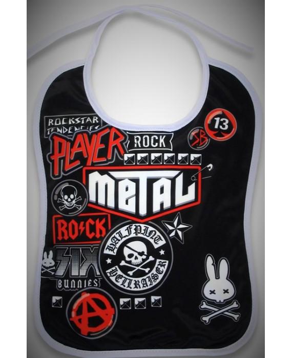 Babero Rock Metal