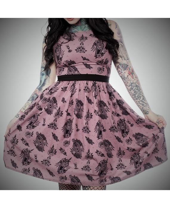 Vestido Tattoo style