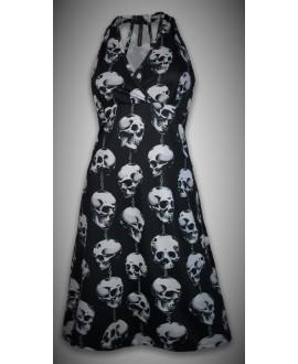 Vestido Calaveras cadena