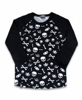 Camiseta Calaveras huesos